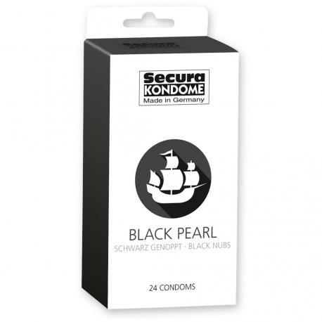 Kondomy Secura Black Pearl 24 ks