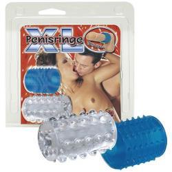 Silikonové návleky na penis - XL Penisringe