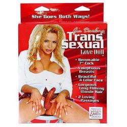 Transexuální panna s odnímatelným penisem - Gia Transsexual Love Doll