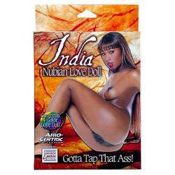 Panna India - India Nubian Love Doll - tištěný obličej