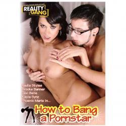 DVD - How to bang a pornstar - Hvězdný sex  br / 120 MINUT, DVD