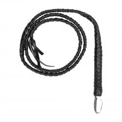 OU Twisted Whip - Černý bič 194cm