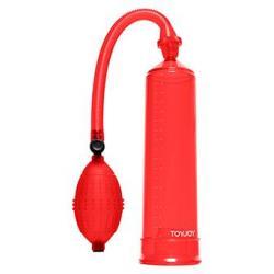 Pressure Pleasure - Vakuová pumpa červená