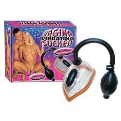 Vibrační pumpa na vagínu - Vibrierender Vagina Sucker