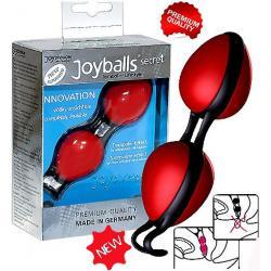 Venušiny kuličky červené Joyballs Secret rot/schwarz