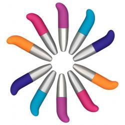 Funky G spot barevné vibrátory