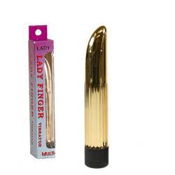 Zlatý vibrátor Lady Finger