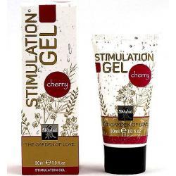 Shiatsu intim stimulation gel pro ženy a muže s vůní třešně