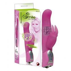 Vibrátor na bod G Smile Pearly Bunny