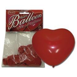 Nafukovací balonky srdíčka